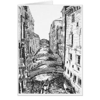 Venetië in Pen & Inkt Kaart
