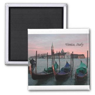 Venetië, Italië 2 (door St.K.) Vierkante Magneet