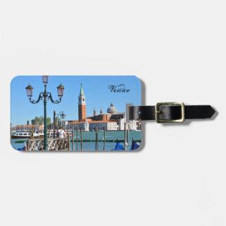Venetië, Italië Bagagelabel