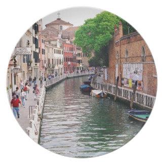 Venetië, Italië Melamine+bord