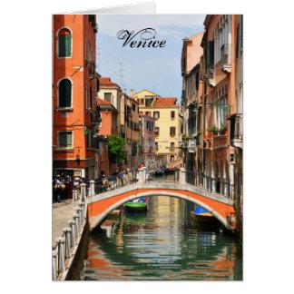Venetië, Italië Wenskaart