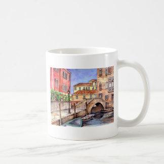 Venetië - Pen & de Waterverf van de Was Koffiemok