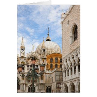 Venetië, Veneto, Italië - de Vogels zijn Wenskaart