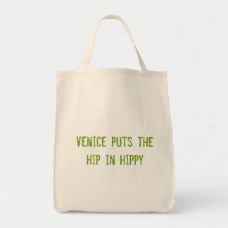 Venetië zet de heup in hippy canvas tas