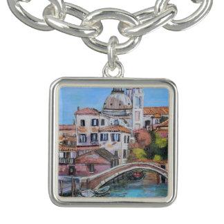 Venezia - de Vierkante Armband van de Charme,