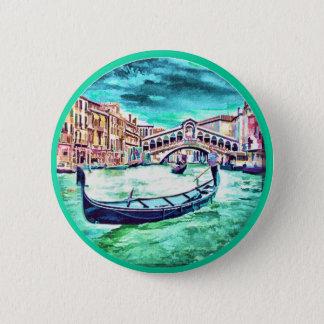 Venezia, Italië Ronde Button 5,7 Cm