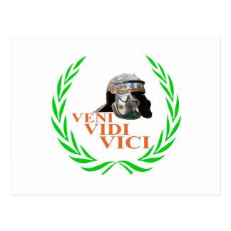 Veni Vidi Vici Briefkaart