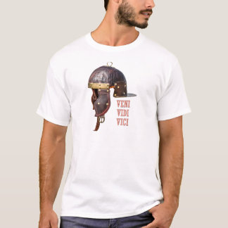 Veni, Vidi, Vici Oude Roman helm T Shirt