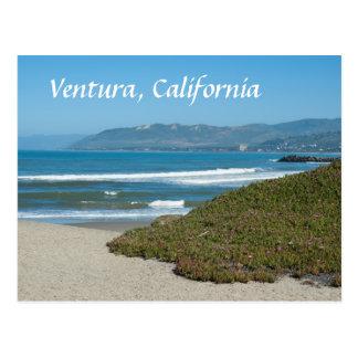 Ventura, Californië de Stille Oceaan en Strand Briefkaart