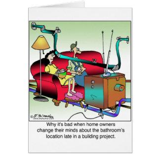 Verander de geen Plaats van de Badkamers terwijl Briefkaarten 0