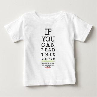 Verander Mijn Bedankt van de Luier Baby T Shirts