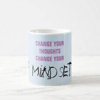 Verander uw gedachten - citeer Mok