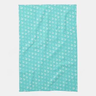 Verankert weg de Handdoek van de Keuken in Seafoam