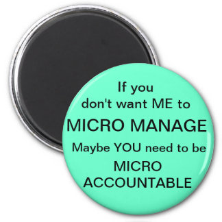 Verantwoordelijke micro magneet
