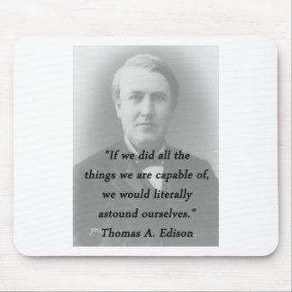 Verbaas me - Thomas Edison Muismat