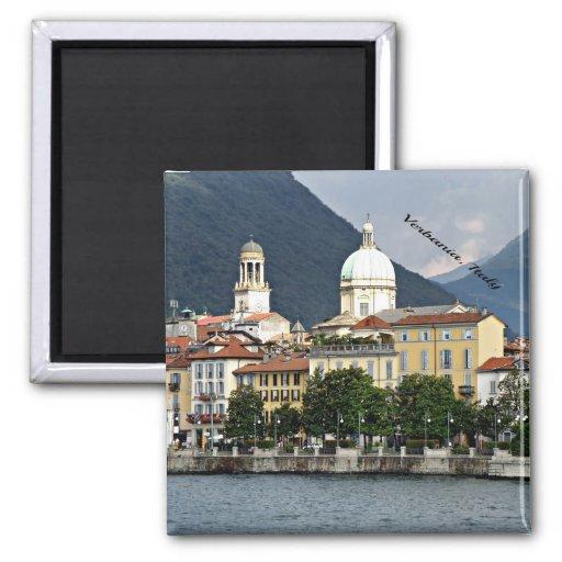 Verbania, cityscape van Italië Magneet