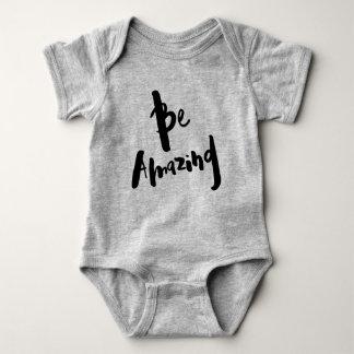 """""""Verbazend ben"""" - Inspirerend Bodysuit van de Baby"""