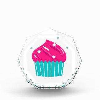 Verbazend blauw roze blauw Cupcake Acryl Prijs