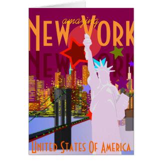 Verbazend New York Wenskaart