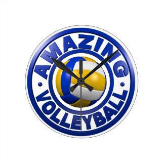 Verbazend Volleyball Ronde Klok Medium