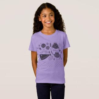 Verbazende ontwerperst-shirt met de schepselen van t shirt