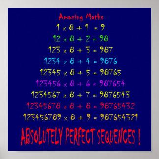 Verbazende Wiskunde Poster