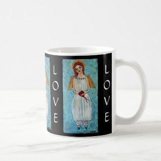 Verbindend door de Engel van de Liefde Koffiemok