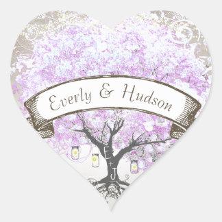Verbinding van het Huwelijk van de Boom van het Hart Sticker