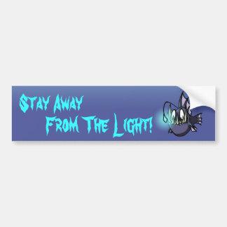 Verblijf vanaf het Licht! Bumpersticker