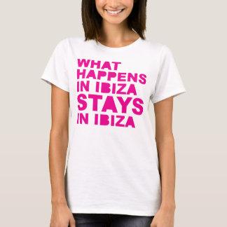 Verblijven in Ibiza T Shirt