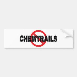 Verbod Chemtrails Bumpersticker