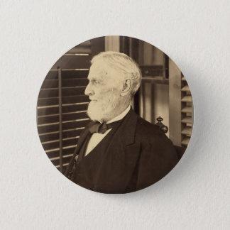 Verbonden President Jefferson Davis door E. Wilson Ronde Button 5,7 Cm