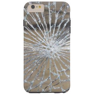 Verbrijzeld Glas Tough iPhone 6 Plus Hoesje