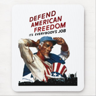 Verdedig Amerikaanse Vrijheid Muismat