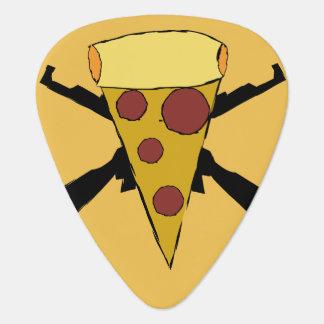 Verdedig de Punk Pizza van de Pop Gitaar Plectrums 0