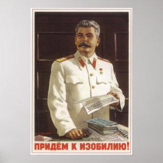 Verder aan Overvloed Poster