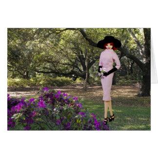 Verdi - Roze Kledij, Bloemen in Houston, Briefkaarten 0