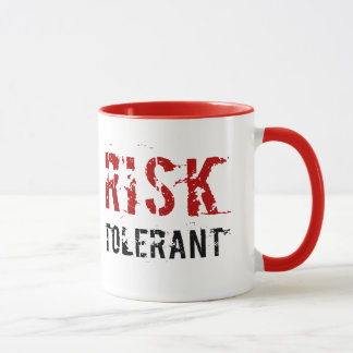 Verdraagzaam risico - mok
