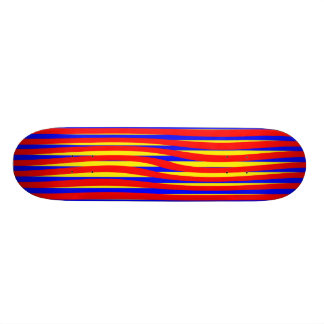 Verdraaide Strepen 21,6 Cm Old School Skateboard Deck
