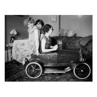 Vereis een Lift? jaren '20 Briefkaart