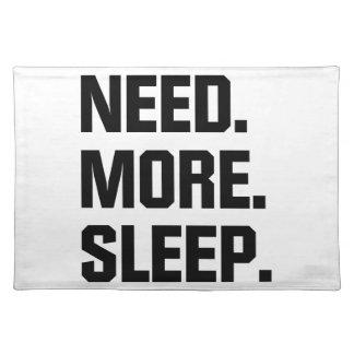 Vereis Meer Slaap Placemat
