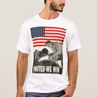 Verenigd winnen wij Wereldoorlog II T Shirt