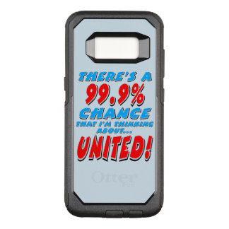 VERENIGDE 99.9% (blk) OtterBox Commuter Samsung Galaxy S8 Hoesje