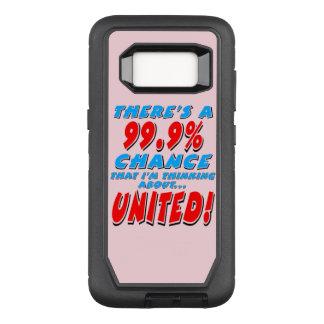VERENIGDE 99.9% (blk) OtterBox Defender Samsung Galaxy S8 Hoesje