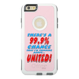 VERENIGDE 99.9% (blk) OtterBox iPhone 6/6s Plus Hoesje