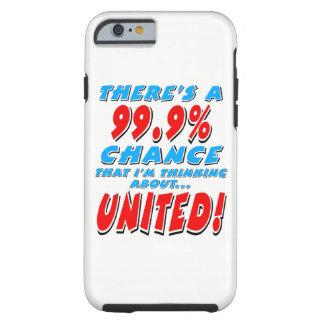 VERENIGDE 99.9% (blk) Tough iPhone 6 Hoesje
