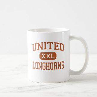 Verenigde - Longhorns - Middelbare school - Laredo Koffiemok