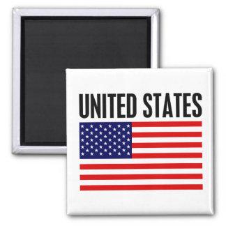 Verenigde Staten Vierkante Magneet