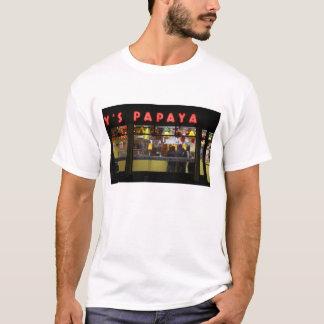 Verenigde Staten, New York. Grijze Papaja: venster T Shirt