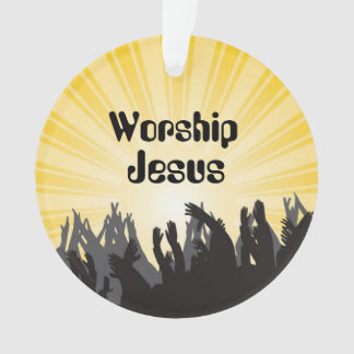 Verering Jesus Bible Verse Custom Ornament
